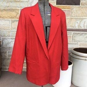 Vintage Sag Harbor Wool Blazer